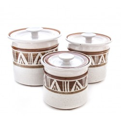 Art Pottery Canister Set